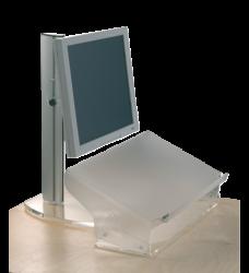 photo of Documentenhouder OPUS 2 A3 hoogte verstelbaar mat transparan