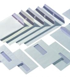 photo of Envelop Quantore 162x229mm venster 4x11cm rechts 500stuks