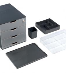photo of Coffee Point Box Durable 3385-58 antraciet-lichtgrijs