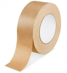photo of Papier tape 50mm x 50m bruin