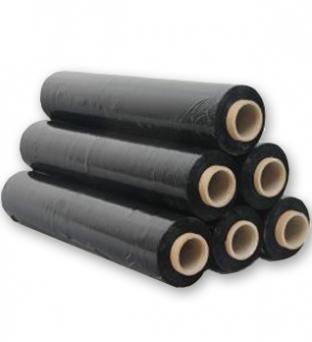 Stretchfolie 50cm x 300m 20µm Zwart  Product image