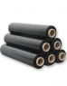 photo of LLDPE stretchfolie 50cm x 300m 20µm Zwart