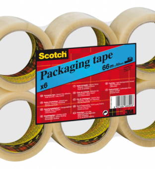 Verpakkingstape Scotch 3715 50mmx66m transparant PP Product image