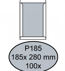 photo of Envelop Quantore bordrug P185 185x280mm zelfkl. wit 100stuks