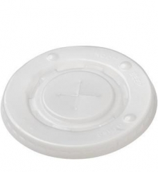 photo of Milkshakedeksel plastic rond  9cm  300/400/500ml transparant