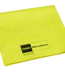 photo of Microvezeldoek Taski geel voor in de keuken