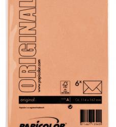 photo of Envelop Papicolor C6 114x162mm Oranje