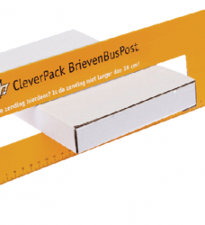 photo of Brievenbusbox CleverPack A4 350x230x26mm karton wit 5stuks