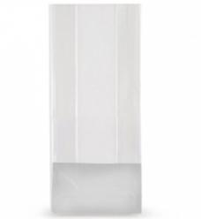 photo of Polyprop blokbodem zak 8cm x2.5cm x 17cm dikte 50µm transparant onbedrukt
