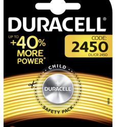 photo of Batterij Duracell knoopcel 1xCR2450 lithium Ø24mm 3V-540mAh