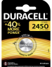 photo of Batterij Duracell knoopcel 1xCR2450 lithium Ø24mm 3V-540mAh