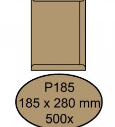photo of Envelop Quantore akte P185 185x280mm bruinkraft 500 stuks