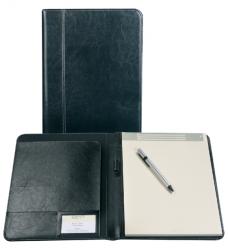 photo of Schrijfmap Brepols Palermo A4 + blok zwart