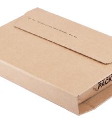 photo of Wikkelverpakking CleverPack ringb +zelfkl strip bruin 10stuk