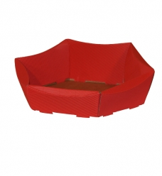 photo of Pakketdoos basket 43cm x 36cm x 9cm rood