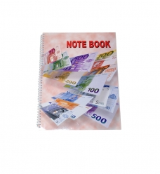 photo of Cahiers 22 x 28 cm euro notebook met spiraal