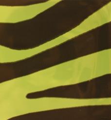 photo of Kadozakjes polyprop 10cm x 15cm groen zebra 40µm