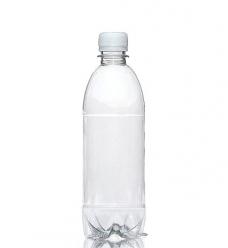 photo of Flessen met dop 500 ml pet transparant