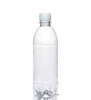 Flessen met dop 500 ml pet transparant Product image