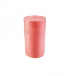 photo of Luchtkussenfolie 100cm x 100m 100µm roze antistatisch