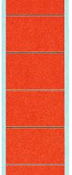 photo of Rugetiket Leitz smal/lang 39x285mm zelfklevend rood