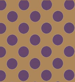 Kadozakjes natron kraft 15cm  x 22cm bruin paarse stip 50gr / m2 Product image