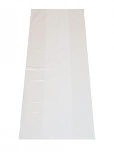 photo of Plastic zak hdpe met zijvouw 18cm x 8 x 35cm 8µm ongeperforeerd