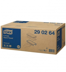 photo of Handdoekjes advance 31cm x25cm tork H3 290264 C vouw 2 lagen