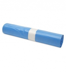 photo of Afvalzak 70cm x 110cm 22µm blauw 120L  hdpe