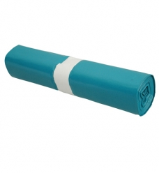 photo of Afvalzak 70cm x 110cm 55µm blauw 120L  ldpe