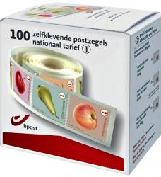 photo of Postzegel Belgie waarde 1 zelfklevend 100 stuks