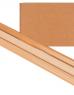 photo of Inpakpapier Kraft gestreept 60gr 100cmx10m op rol