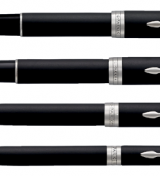photo of Vulpen Parker Sonnet matte black CT M