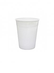 photo of Beker plastic recht   180ml wit