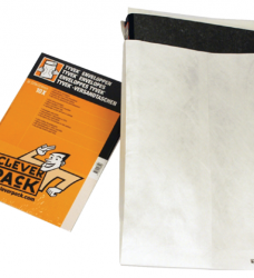 photo of Envelop CleverPack tyvek monsterzak 250x353x38mm wit 10st