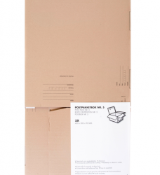 photo of Postpakketbox Budget 5 430x300x90mm bruin
