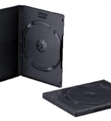 photo of Dvd doos Quantore 14mm leeg zwart