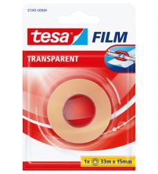 photo of Plakband Tesa film 15mmx33m transparant blister