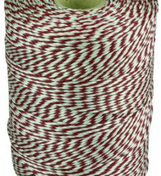 photo of Touw katoen 180meter rood/wit