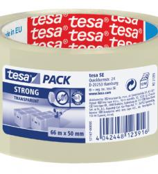 photo of Verpakkingstape Tesa 50mmx66m transparant PP