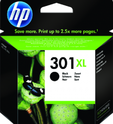 photo of Inktcartridge HP CH563EE 301XL zwart HC