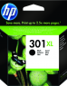 photo of Inktcartridge HP CH563EE 301XL zwart HC