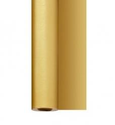 photo of Tafellaken 120cm x 25m goud dunisilk