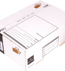 photo of Postpakketbox 3 CleverPack 240x170x80mm wit 25stuks