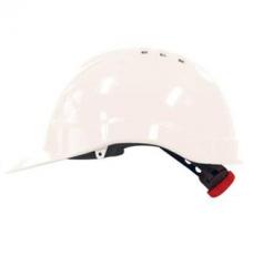 photo of Veiligheidshelm wit met draaiknop MH6010 PE