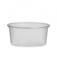 photo of Cup rond 10.1cm x 4.8cm 250ml pp transparant