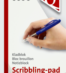 photo of Kladblok Quantore 12x20cm 200vel