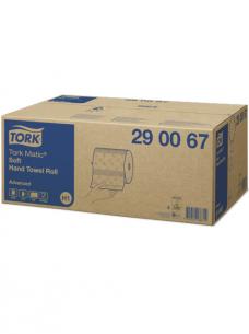photo of Handdoekjes H1 advanced  x21cm tork H1 290067 op rol met  doppen 2 lagen wit