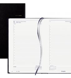 photo of Agenda 2022 Brepols Saturnus kort 1dag/1pagina zwart