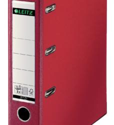 photo of Bankordner Leitz A4 80mm 2 mechanieken rood